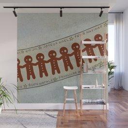Gingerbread and Christmas Wall Mural