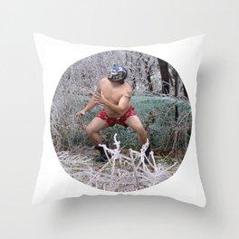 El Chicharron vs. The Ice Throw Pillow