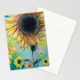 Supermassive Sunflowers Stationery Cards