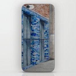 Blue Tiles iPhone Skin