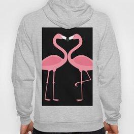 Flamingos Kissing in the Dark Hoody