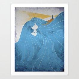 Waterways Art Print