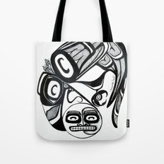 Raven Steals the Moon Tote Bag