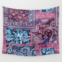 ethnic Wall Tapestries featuring Ethnic by RIZA PEKER
