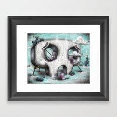 Channel Zero Framed Art Print