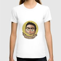 derek hale T-shirts featuring Cutie Hale by thescudders