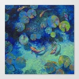 Taiwanese Blue Canvas Print