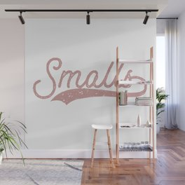 Smalls The Sandlot Movie (pink/distressed) Wall Mural