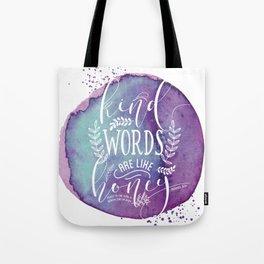 PROVERBS 16:24 Tote Bag
