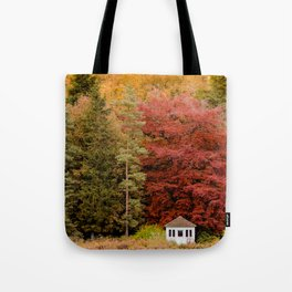 Autumn at the Summer House Tote Bag