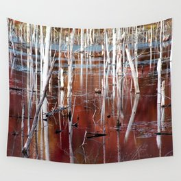 Automn Swamp Wall Tapestry
