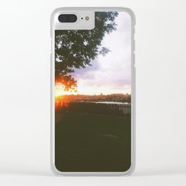 Summer nights in Stockholm Clear iPhone Case
