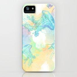 Mar de Medusas iPhone Case