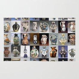 Picasso Ceramic Pitchers Rug