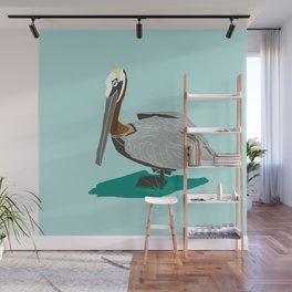 Mr. Pelican Wall Mural