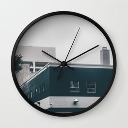 Home For Winter Wall Clock