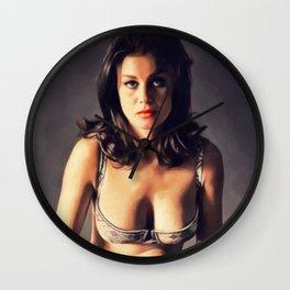 Lana Wood, Vintage Actress Wall Clock