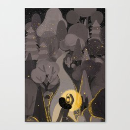 The Light Will Guides You Home Canvas Print