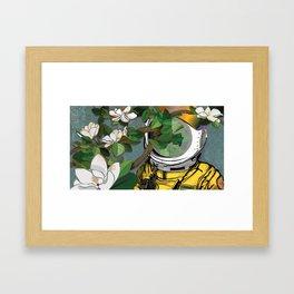 Magnolianaut Framed Art Print