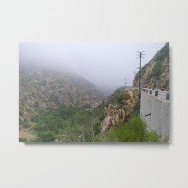 Las Virgenes Canyon, California Metal Print