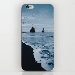 Iceland's Black Sand Beach iPhone Skin