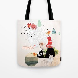 FRASK Collage Tote Bag