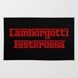 Lamborgotti Fasterossa Rug