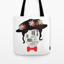 World at your feet Tote Bag