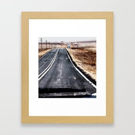 Texas Road Framed Art Print