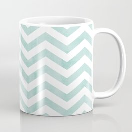 Stripes Blue zig-zag Coffee Mug