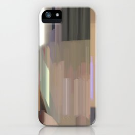 light lines 1 iPhone Case