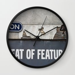 Feat of Features Vancouver Wall Clock