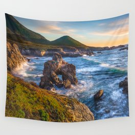 Soberanes Point Sunset, Big Sur Wall Tapestry