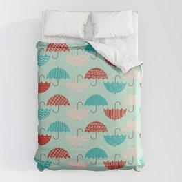 Umbrellas Duvet Cover