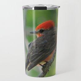 Vermilion Flycatcher Travel Mug