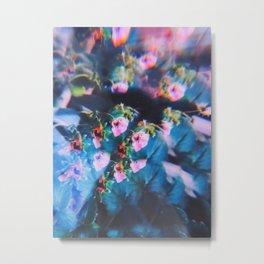 Strawberry Blooms Metal Print