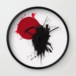 Grim Crystallize Wall Clock