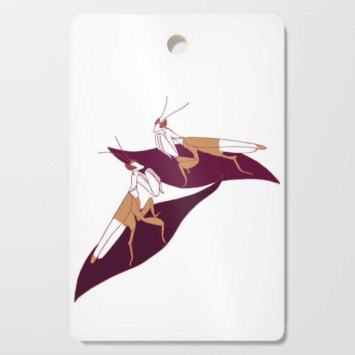 Orchid Mantids Cutting Board