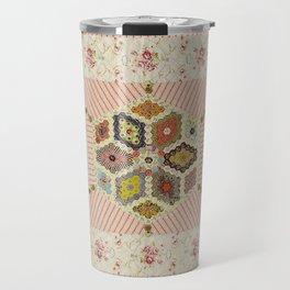 Baby Hexagon Quilt Travel Mug
