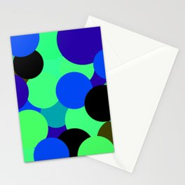 Bolhas flutuantes Stationery Cards
