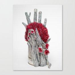 In Trees we Trust | Surrealistic Sculpture | PetitPlat.fr Canvas Print