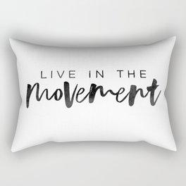 The Movement Rectangular Pillow