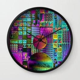FLR WINDOWS Wall Clock