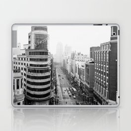 Gran Via in Madrid Laptop & iPad Skin