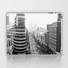 Gran Via in Madrid Laptop & iPad Skin