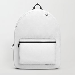 Easily Distracted By Unicorns For Spirit Animal Lovers design Backpack