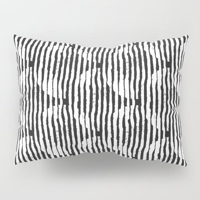 Zen Circles Block Print Pillow Sham