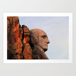George Washington (Mount Rushmore) Art Print