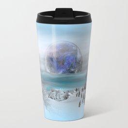 world of ice Travel Mug