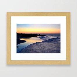 Beach V Framed Art Print